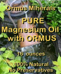 Ormus Minerals -Pure Magnesium Oil with Prill Water